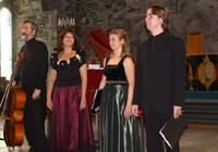Regina Iberica en la Hakkon Salle de Bergen (Noruega) en abril de 2006