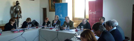 VI Asamblea de FestClsica en el Alczar de Segovia. cortesa de la Fundacin Don Juan de Borbn