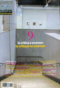 dn preliminares  La crítica a examen/La critique en examen