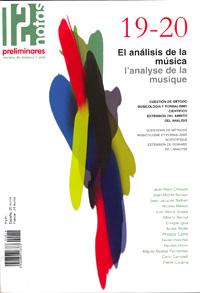 dn preliminares  El análisis de la música/Lanalyse de la musique