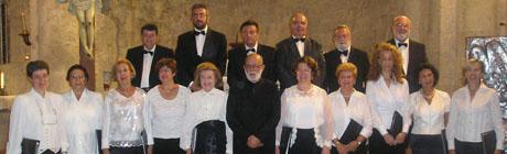 Coro de Cámara Villa de Madrid. Cortesía prensa Comunidad de Madrid