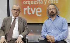 Jordi Casas  y Carlos Kalmar. Cortesía prensa ORTVE