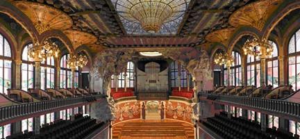 Palau de la Música Catalana. © www.palaumusica.og