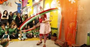 para ninos  Clown y humor para todos en el Montacargas