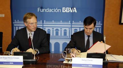 Miguel Ángel Recio y Rafael Pardo. Cortesía prensa FBBVA