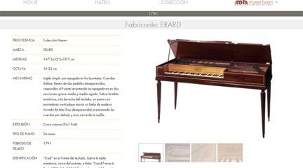 instrumentos  Hazen pone en marcha el primer Museo Virtual del Piano en España