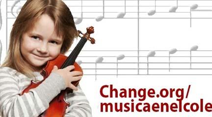 opinion  Petición para devolver la asignatura de música a la educación primaria