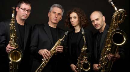 clasica  Concierto de Miquel Bofill Sax Quartet en el 200 aniversario de Adolf Sax
