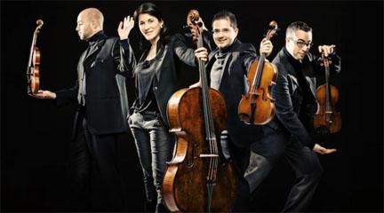 clasica  Quiroga, la potencia del cuarteto de cuerda español