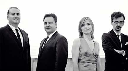 partituras  El Cuarteto Bretón, con Jesús Guridi