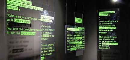 Vista de la exposición Creatividad artificial © MIMMA