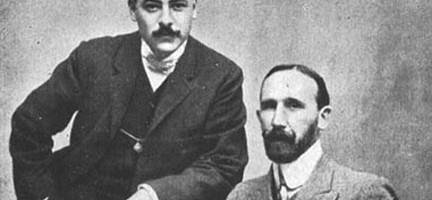Arniches y Enrique García Álvarez. Fuente: www.revistakatharsis.com