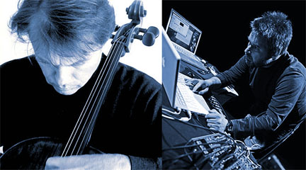 Ulrich Mitzlaff y Carles Santos © Nuno Martins, 2011