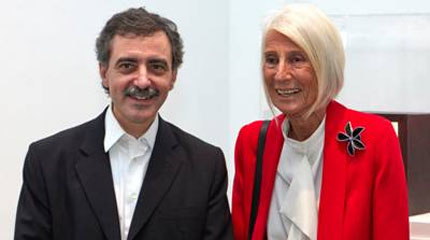 Manuel Borja-Villel y Soledad Lorenzo. Cortesía Museo Reina Sofía