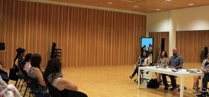 Presentación del nuevo curso. Cortesía Palau de les Arts