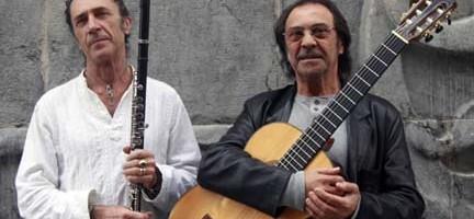 Jorge Pardo y Pepe Habichuela