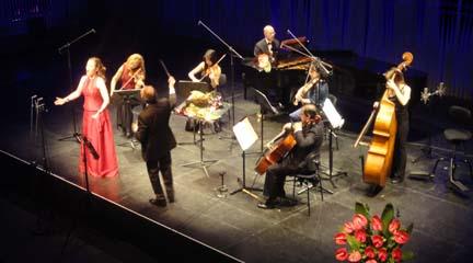 clasica  Cantos de amor y Vida con Sonor Ensemble en la UCM