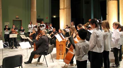 antigua  Navidad en Círculo Bach