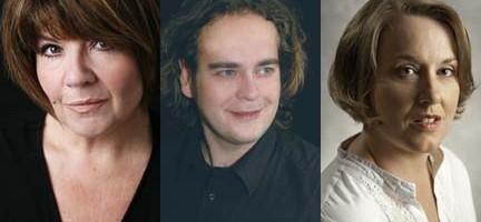 Anne Marie Owens, Christian Voigt y Jane Irwin.