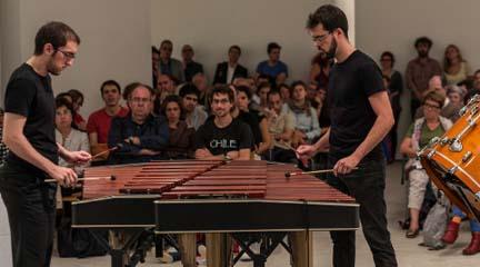 contemporanea  Música contemporánea y arte unidos en el Centre dArt Tecla Sala