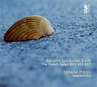 cdsdvds  Suites francesas de J. S. Bach por Ignacio Prego