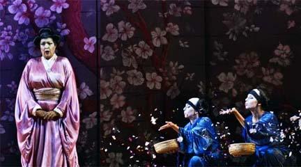lirica  Madama Butterfly en la temporada de la ABAO