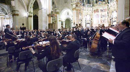 clasica  Bruckner suena en la Catedral de Valencia