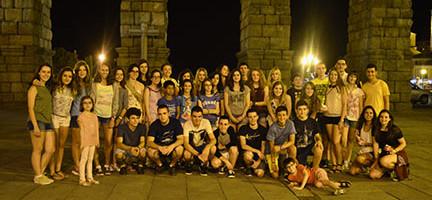 Alumnos del VIII Curso de Música Ciudad de Segovia