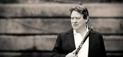 Andrew Marriner, clarinete solista de la Orquesta Sinfónica de Londres.