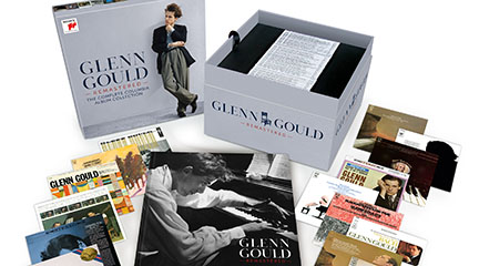 novedades  Glenn Gould, el pianista irrepetible, vuelve remasterizado