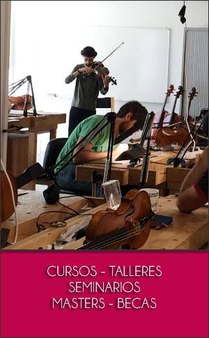 Cursos   Talleres   Seminarios   Clases Magistrales   Música e Instrumentos