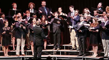 lirica  Concierto del Coro Dartmouth College Glee Club a favor de Manos Unidas