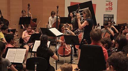 clasica  Primer concierto de la Camerata Infantil Fundación BBVA – ORCAM