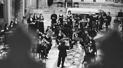antigua  Bach suena en las Iglesias y recintos históricos de Madrid