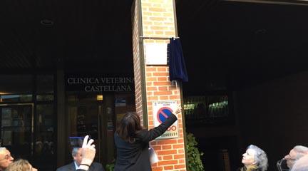 notas  La SGAE inaugura una placa en memoria del compositor Claudio Prieto
