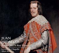 novedades  Presentación del CD Juan Hidalgo (1614 1685). Música para el Rey Planeta
