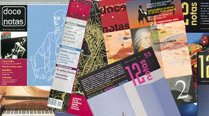 publicaciones  20 aniversario de Doce Notas 1996 2016