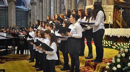 clasica  La Real Filharmonía de Galicia se prepara para las fiestas