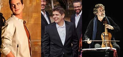 P. Jaroussky, Cuarteto Quiroga y J. Perianes y J. Savall.