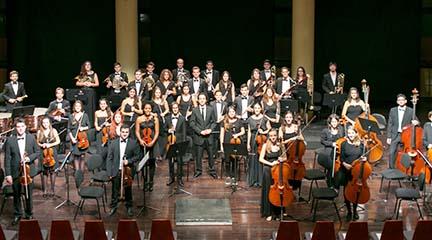 clasica  La Jove Orquestra Simfònica de Barcelona se presenta en el Paraninfo de la Universidad de Barcelona