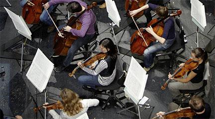 pruebas de acceso  Audiciones varios instrumentos para la Orchester akademie de la Filarmónica de Zürich