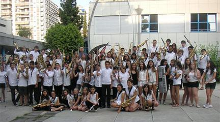 actualidad de centros  La Banda del Colegio Alemán de Valencia: un proyecto con pies y cabeza