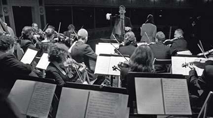 antigua  Concierto presentación de La Madrileña, Orquesta con Instrumentos de Época