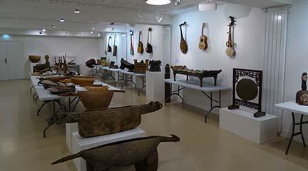 instrumentos  Exposición Instrumentos del mundo: Música para ver
