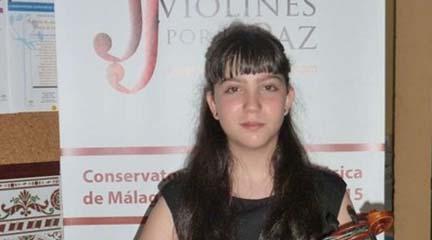actualidad de centros  Concierto de violín y piano con Paula Antonia Sastre