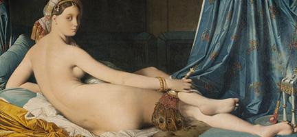 La gran Odalisca. Ingres . París, Musée du Louvre