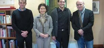 J.I. Tomás Cuesta, Paloma O´Shea, Saulo Guerra, y Michel Arrignon
