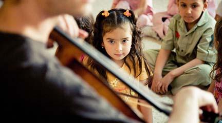 universidad  Máster en Educación Musical de la Fundación Barenboim Said y la Universidad Internacional de Andalucía