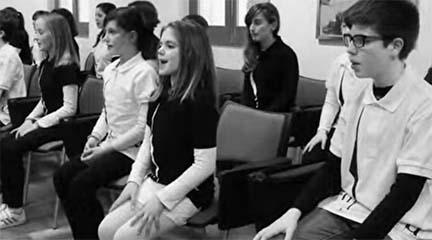 lirica  El Instituto Extremeño de Canto y Dirección Coral presenta The children singers