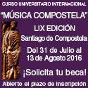 Música Compostela 2016   Becas   LIX Edición   31 de julio al 13 de agosto 2016